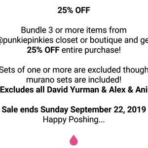 Punkie Pinkie's Pre Halloween Weekend Sale!